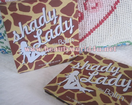 The balm shady lady vol.3 eye palette