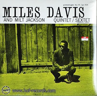 Miles Davis - And Milt Jackson Quintet / Sextet 1lp NEW