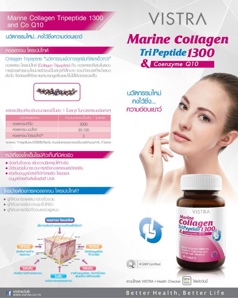vistra collagen 1300 mg ดีไหม