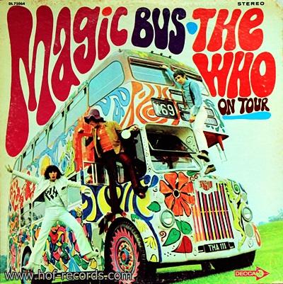 The Who - Magic Bus On Tour 1Lp
