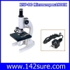 SCI019 กล้องจุลทรรศน์ กล้องไมโครสโคป พร้อมอุปกรณ์ 1600x Medical school Vet Lab Microscope w LED Lamp มาตราฐานอเมริกา UL,CE,ISO (From จีน)