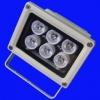 LFL008 โคมไฟ 6W White 400LM LED FloodLight Wall WashLight 6*1W แสงสีขาว (Chip from Taiwan) ยี่ห้อ OEM รุ่น 6X1W