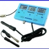 เครื่องมือวัด 6-in-1 Multi-Function Digital LCD Meter Water Tester EC CF TDS (ppm) PH °C °F
