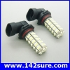 LFC031 หลอดไฟตัดหมอก สปอร์ตไลท์ 1คู่ 68LED 3528 SMD HB4 Auto Car Fog Light Lamp Bulb High Power