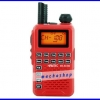 วิทยุสื่อสารเครื่องแดง HAMTEC รุ่น HT-R172 ความถี่ 245 MHz. กำลังส่ง 0.5 วัตต์ 80 ช่อง บันทึกช่องสถานีได้ 25 ช่อง ขนาดเล็กเท่าบัตรเครดิต