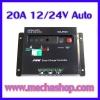 SCC008: โซล่าชาร์จเจอร์ โซล่าร์ชาร์ทเจอร์ มีฟังก์ชั่นตั้งเวลาการทำงานในตัว Solar Charger Controller PWM Charger 20A 12V/24V Auto