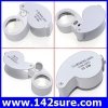 DLT003 กล้องส่องพระ (ระดับเซียนพระ) กล้องส่องจิวเวอร์รี่ พร้อมไฟLED ขยาย40 x 25mm LED Loop Magnifying Magnifier Loupe Jewelry Detect Jeweler Eye Loupe