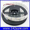 LES031 LED Strip Ribbon Flexible ยาว 5 เมตร 5630 60 LEDs/M 25-28 Lumen/chip สีขาวอมเหลือง แสงสว่างมากกว่า chip 5050 20%(กันน้ำได้)(Chip from Taiwan)