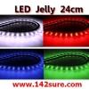 LFC005 LED Jelly Flexibleไฟยางท่อนละ 24 cm. ดัดงอได้ ตัดได้-ต่อได้ (กันน้ำ) ยี่ห้อ OEM รุ่น 24cm