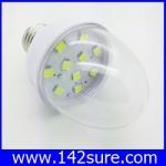 LDL007 หลอดไฟ LED SMD E27-10SMD 2W 12V with cover สีขาว (เทียบเท่าหลอดตะเกียบ7-10วัตต์)40 000 ชั่วโมง ยี่ห้อ epiStar รุ่น