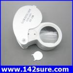 DLT018 กล้องส่องพระ (ระดับเซียนพระ) กล้องส่องจิวเวอร์รี่ พร้อมไฟLED ขยาย45x 25mm LED Loop Magnifying Magnifier Loupe Jewelry Detect Jeweler Eye Loupe
