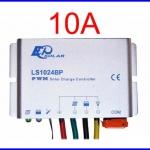 SCC034: โซล่าชาร์จเจอร์ โซล่าคอนโทรลเลอร์ Water-proof 10A 12/24V LS1024BP Solar Charge Controller Shipped from USA