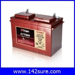 SBD023 : แบตเตอรี่ TROJAN แบตเตอรี่สำหรับการใช้งานระบบพลังงานทดแทน ชนิด Deep cycle battery 12V 105AH คุณภาพสูง ผลิตในประเทศอเมริกา TROJAN 27TMX