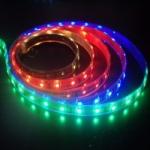 LES017 LED RGB 300 LED Flexible Strip Ribbon 5M 5050 12V เปลี่ยนสีได้ (กันน้ำได้) (Chip from Taiwan)