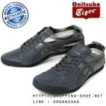Onitsuka Tiger Mexico 66 Deluxe Nippon Made - Gunmetal/Dark Grey ของแท้ จาก Onitsuka Agency มีกล่อง ป้ายครบ