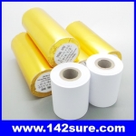 PTH001 จำนวน10ม้วน กระดาษความร้อน กระดาษเครื่องพิมพ์ใบเสร็จ กระดาษเทอร์มอล Thermal Papar กระดาษใบเสร็จ ขนาด2″ 57 mm. เส้นผ่านศูนย์กลาง 50 มม. ยาว 15 เมตร