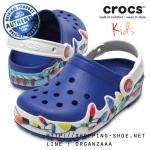 J3 (23 cm.) : CrocsLights Holiday Clog - Blue Jean ของแท้ Outlet ไทยและอเมริกา