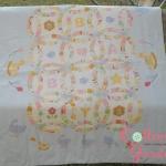 ผ้าห่มนวมสำหรับเด็ก ขนาด 90*120 ซม ทำจากผ้าคอตตอนญี่ปุ่นแท้ 100% บุด้วยใยโพลีเอสเตอร์ เหมาะสำหรับทุกสภาพอากาศ