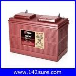 SBD024: แบตเตอรี่ TROJAN แบตเตอรี่สำหรับการใช้งานระบบพลังงานทดแทน ชนิด Deep cycle battery 12V 130AH คุณภาพสูง ผลิตในประเทศอเมริกา TROJAN 30XHS