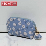 กระเป๋า Axixi พร้อมส่ง รหัส NM12321-2 สีน้ำเงิน ลายดอกไม้ สวยค่ะ
