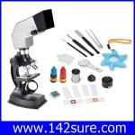 SCI035 กล้องจุลทรรศน์ กล้องไมโครสโคป พร้อมอุปกรณ์ Microscope set Projection 100X 300X 600X 900X