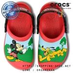 C8/9 (16.5 cm.) : Creative Crocs Mickey Whistles Clog ของแท้ Outlet ไทยและอเมริกา