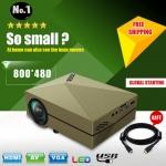 สเปกเยี่ยม!!! ราคาโดนๆ Mini Projector Able 60+ โฉมใหม่สวยเริ่ด ดีไซด์ทันสมัย น้ำหนักเบา พกพาสะดวกมาาาาาาก!!! (รายละเอียดเพิ่มเติม คลิกเลยจ๊ะ คลิกเลยๆ)