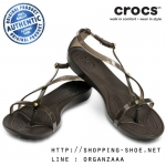 W5 (23 cm.) : Crocs Really Sexi Sandal - Espresso ของแท้ Outlet ไทยและอเมริกา