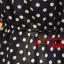 SALE//SALE (ส่งฟรี) ชุดเดรส สไตล์เกาหลี แขนกุด ผ้าซาติน สีน้ำเงิน ลายจุดขาว แบบสวยน่ารัก thumbnail 13