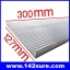 SIK005: ฮีทซิงค์ ระบายความร้อน หลอดไฟ LED อะลูมิเนียมระบายความร้อน 300mm Long Wide Aluminum heat Sinks for LED DIY Aquarium Light Cooling thumbnail 1