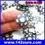 SIK001-S: Heat Sink Aluminum ระบายความร้อน หลอดไฟ LED DIY High Power 1W 3W 5W (จำนวน50ชิ้น) thumbnail 3