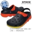M10/W12 (28 cm.) : Crocs Duet Max Ombre Clog - Navy / Orange ของแท้ Outlet ไทยและอเมริกา thumbnail 1