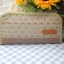 กระเป๋าเงิน ยาว ใส่บัตรได้ 6 บัตร ผ้าญี่ปุ่นผสมผ้าไทย ควิลล์มือ แต่ง แอพพลิเค่ รูปตุ๊กตาน่ารัก(สินค้าฝากขาย) thumbnail 3