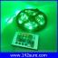 LES036 ไฟLED RGB 300LEDs Flexible Strip Ribbon 5M 3528 12V 60LED/M พร้อมชุดรีโมทควบคุม เปลี่ยนสีได้ (ไม่กันน้ำ) thumbnail 5