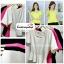 เสื้อแฟชั่น เสื้อทำงาน ผ้าฮานาโกะ สีขาว ดีไซน์สวยเรียบหรู สินค้าคุณภาพ ราคาไม่แพง thumbnail 4