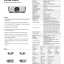 D5010 ความสว่างสูง: 6000 ANSI Lumens ความละเอียด: XGA (1024x768) อัตราความคมชัด: 2,000:1 อายุหลอดภาพนานถึง: 3,500 Hours (Eco Mode) โทรมาเลยจ้า 0955397446 คุณกิ่ง thumbnail 10