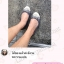 W6 (23 cm.) : Crocs Women's Cap Toe Bow Flat - Espresso / Gold ของแท้ Outlet ไทยและอเมริกา thumbnail 3