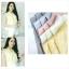 เสื้อแฟชั่นผ้าฮานาโกะ แขนกุด คอวี (สีม่วง) จับจีบไหล่ ทรงสวยเรียบหรู สินค้าคุณภาพดี ใส่ได้ทุกโอกาส thumbnail 10