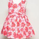 เสื้อผ้าเด็ก ชุดเดรส ชุดกระโปรงสำหรับเด็กผู้หญิง Fushia Blossom (ส่งฟรี)