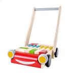 ของเล่นเด็ก ของเล่นเสริมพัฒนาการ รถเข็นบล็อคไม้ Baby Walker (ส่งฟรี)