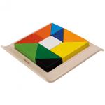 ของเล่นไม้ ของเล่นเด็ก ของเล่นเสริมพัฒนาการ Twisted Puzzle (ส่งฟรี)