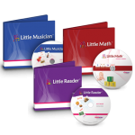 โปรแกรมเสริมสร้างพัฒนาการเด็ก Little Reader Basic + Little Math Content + Little Music Content (ส่งฟรี EMS)