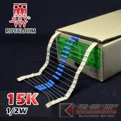 15K 1/2W 1% Metalfilm (100pcs)