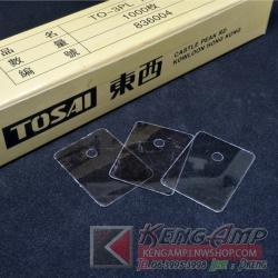 (100pcs) แผ่น MICA TO-3PL 22*29mm เหมาะกับ 2SA1943 2SC5200