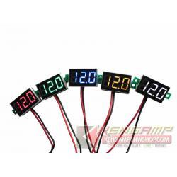 Panel Voltmeter 2.5-30Vdc
