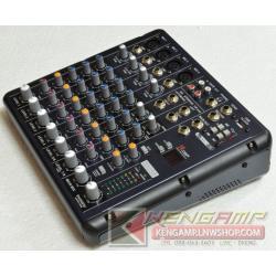 MIXER SMR8 (8 Channel Mixer 4 Mono / 2 Stereo)