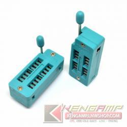TFXTDOL Socket 16P แบบขาล๊อค ใช้ทดสอบ IC