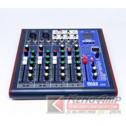 PASS AX6 Mini Mixer 6ch พร้อม Effect แท้ และ USB Bluetooth Player