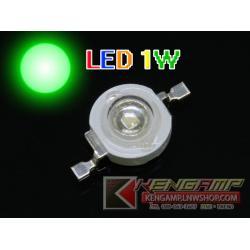 LED 1W สีเขียว 100-110LM