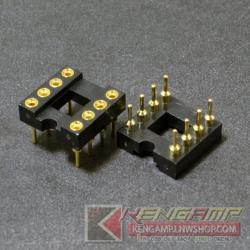 Socket DIP8 ขาทอง (10pcs)